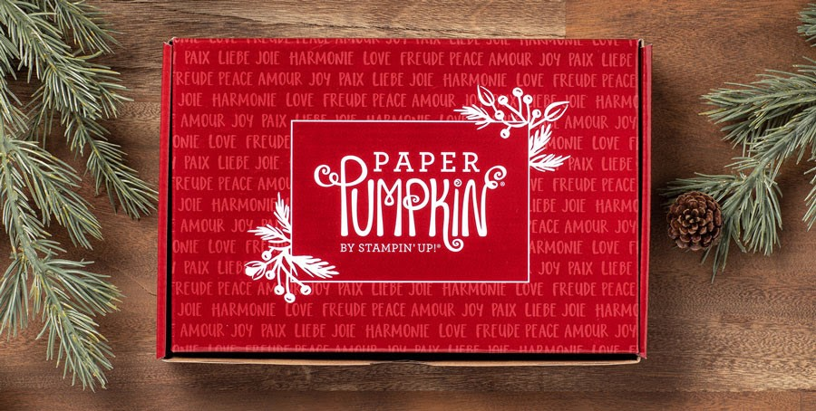 Nieuw: Paper Pumpkin Joy To The World