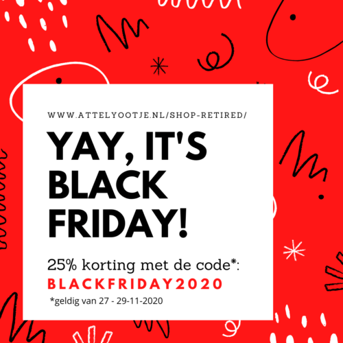 Retired Black Friday Korting