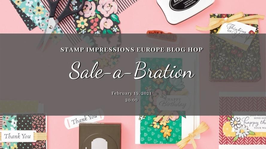 Bloghop Stamp Impressions EU – Sale-a-Bration